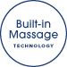 built in massage technology