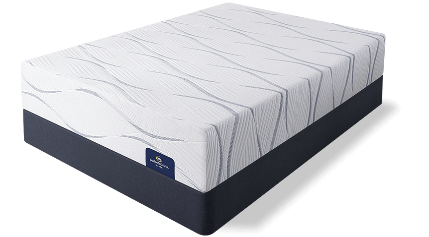 perfect sleeper memory foam mattress on foundation